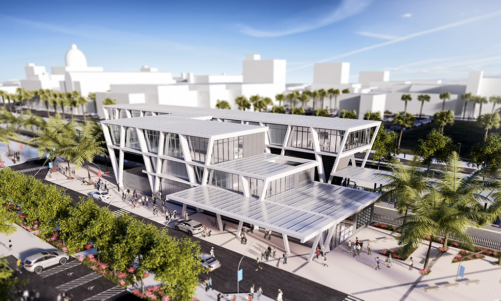 Brightline Station in West Palm Beach, FL